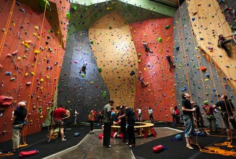 Vertical World Climbing Wall -- Seattle