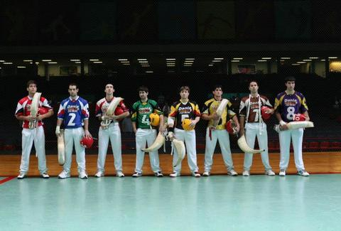 Dania Jai-Alai players
