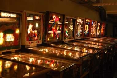Seattle Pinball Museum Interior -- Seattle