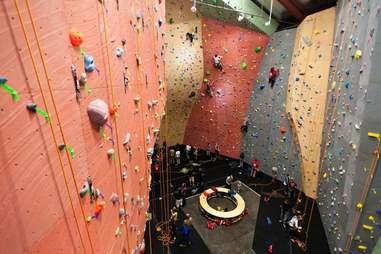 Vertical World Climbing Wall -- Seattle