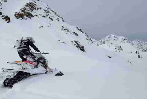 Wilderness Collective's Alaskan Snowmobile Adventure along the Iditarod trial