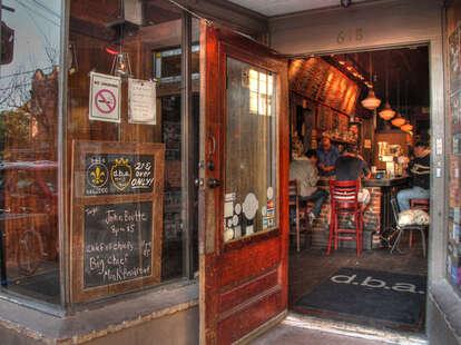 bar doorway