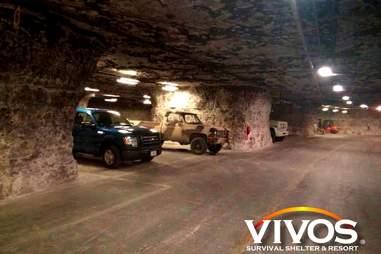 Vivos Survival Shelter & Resort Vehicles