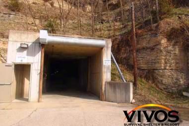 Vivos Survival Shelter & Resort Entrance