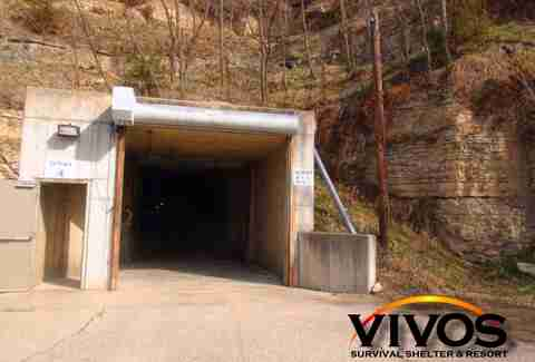 Vivos Survival Shelter & Resort Entrance
