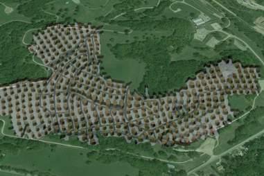 Vivos Survival Shelter & Resort Map 2