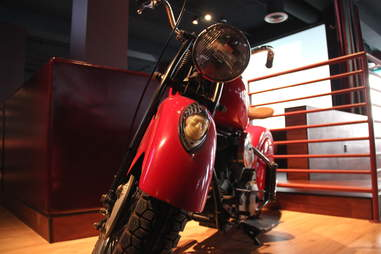 Motorcycle at GGTR