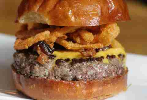 The Manly Burger at Umami Burger in the West Village
