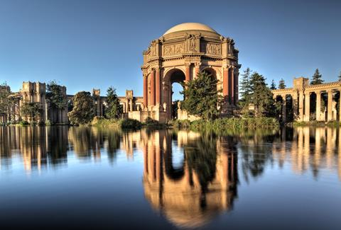 The SF Palace of Fine Arts