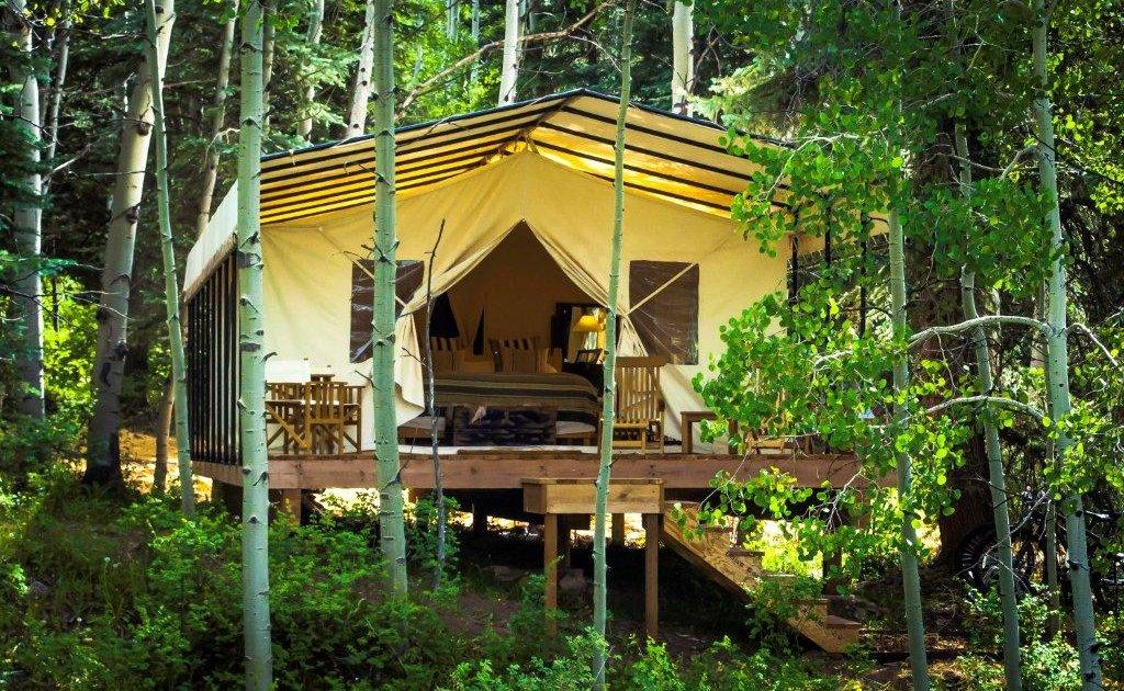 Luxury Tents - Cresto Ranch Tents at Dunton Hot Springs in ...