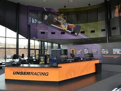 Unser Racing interior -- Denver