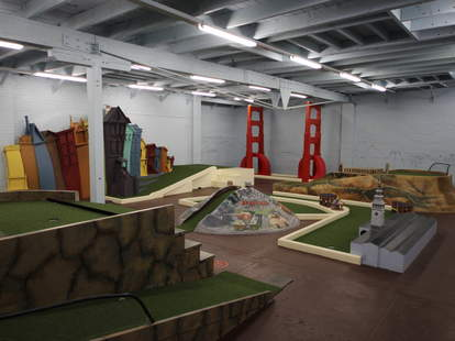 Subpar Miniature Golf-Miniature Golf Course-San Francisco