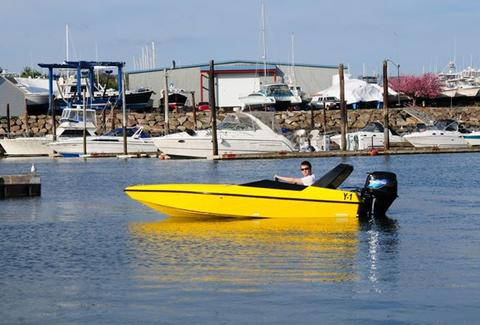 Boston Harbor Mini Speedboats