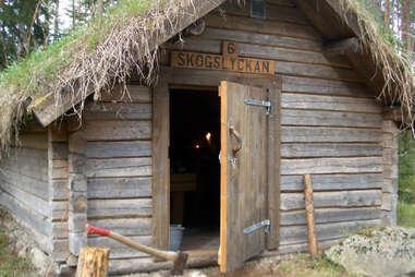 nell-like cabin in sweden