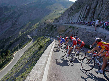 Tour de France bike tour mountains