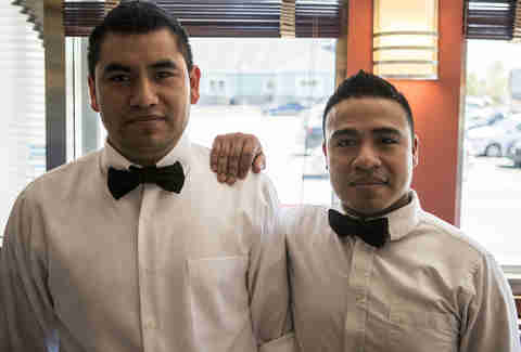 Eveready Diner waiters