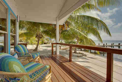 Hatchet Caye Resort House