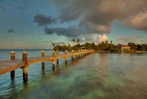 Hatchet Caye Resort Island