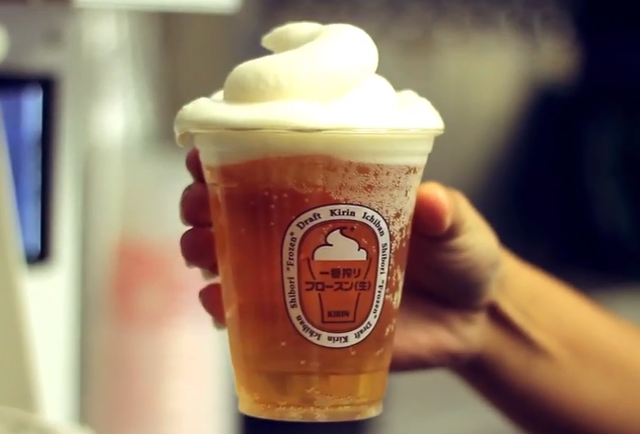Dodgers Stadium introduces frozen beer foam to keep your ale frosty