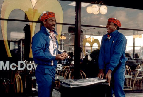 Coming to America McDonald's