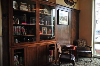 interior of Churchill's