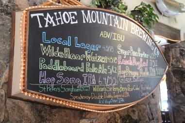 TMBC beer list