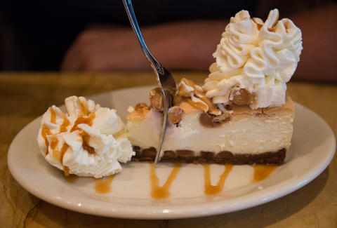 Cheesecake Factory White Chocolate Caramel Macadamia Nut