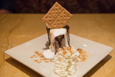 Cheesecake Factory Toasted Marshmallow S'mores Galore