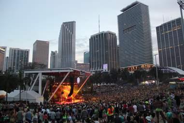 Ultra stage -- Miami