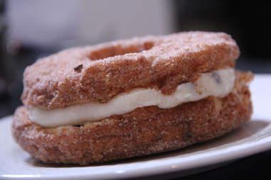 The cannoli Cronut Do-Cro from Potito's Bakery