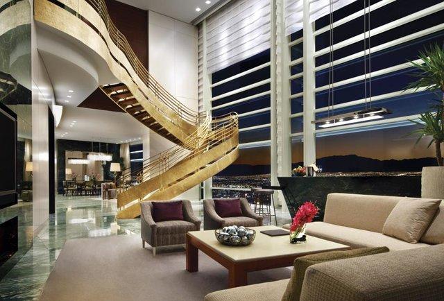 Bachelor Party Suite Aria Sky Suites