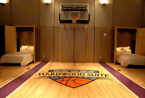 Bachelor Party Suite -- Palms Hardwood Suite