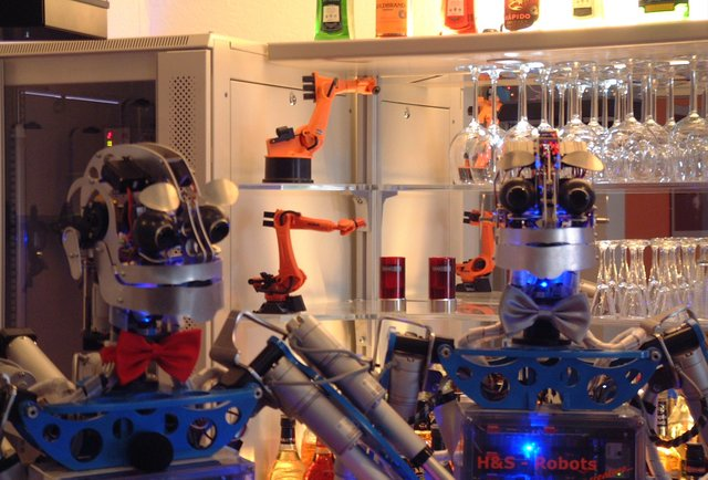 Have a robot bartender make your drink in eastern Germany