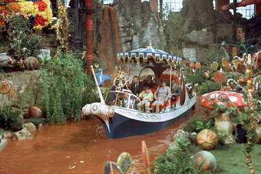 chocolate river from Willy Wonka