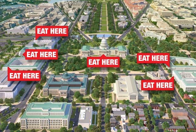 The 10 best things to eat at the House & Senate cafeterias