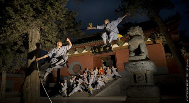 Travel to the Shaolin Temple to learn kung fu