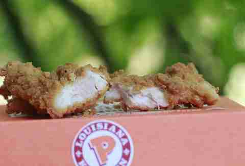 Chicken & Waffle Tenders at Popeyes.