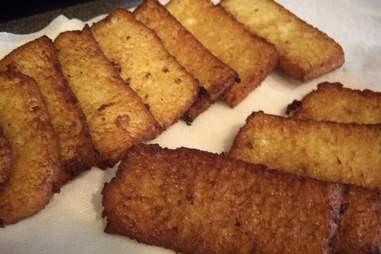 French toast sticks.