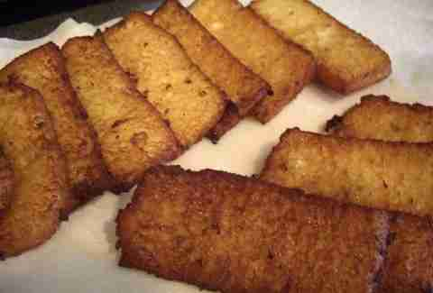 French toast sticks.