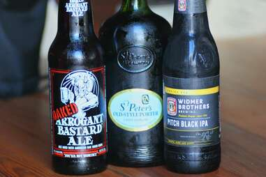 Stouts and porters at The Riverside Market Craft Beer Academy
