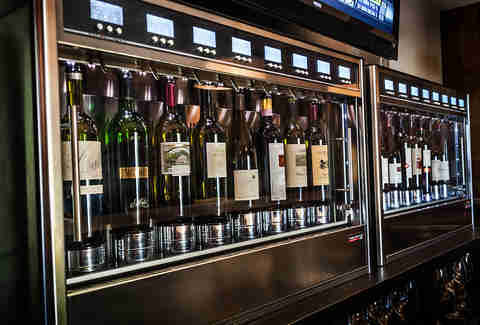 Wine on tap at Sublime Tavern in Del Mar.