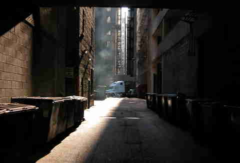 alleyways chicago