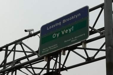 Oy Vey, Leaving Brooklyn -- NYC