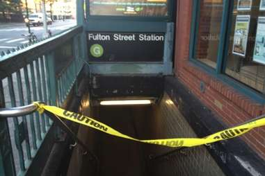 G Train broken -- NYC