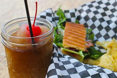 Victory Sandwich Bar - Jack & Coke slush