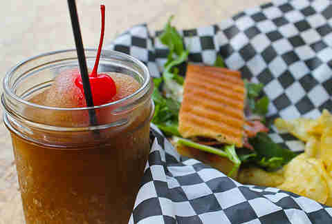 Victory Sandwich Bar - Jack & Coke slush