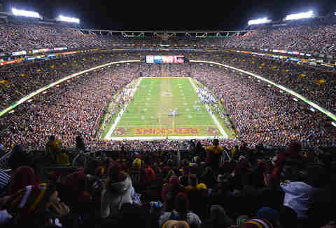 redskins fed ex field