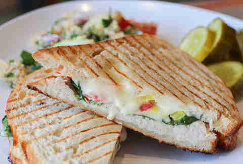 Panini at Uno Due Go, Plano TX