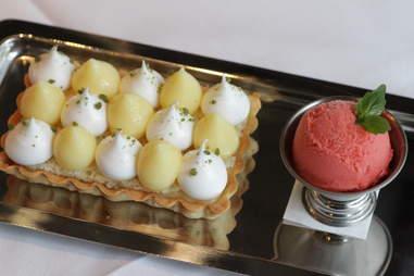 Lemon tart at Quality Italian