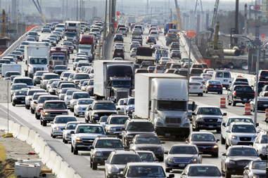 Traffic in Dallas